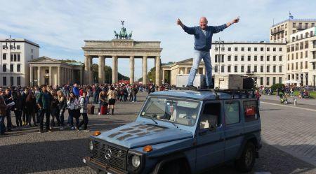 890 000 km ar Mercedes-Benz Gelandewagen