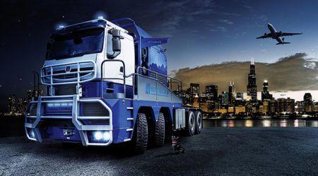 Autovilcieni priekš īpaši smagām kravām