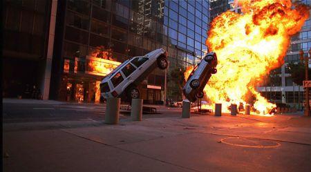 Kā kino spridzina automobiļus