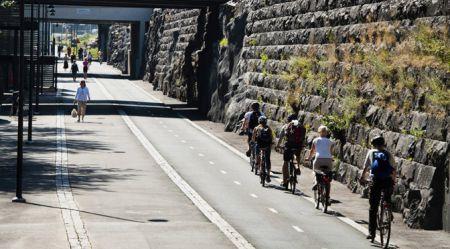 Maģistrāle priekš velobraucējiem Somijā