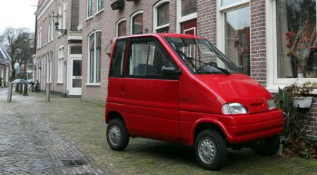 Mikroautomobiļi Holandē