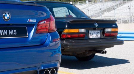 BMW M5: vairāk nekā 30 gadus uz konveijera