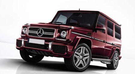 Mercedes-Benz Gelandewagen trieciena tests