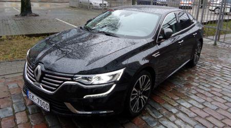 Renault Talisman: prezentācija Vecrīgā