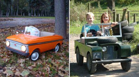 Mūsdienu bērnu automobiļi