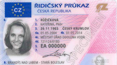 Iegādāties auto vadītāja tiesības Čehijā