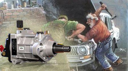 Smieklīgais stāsts par augstspiediena degvielas sūkni