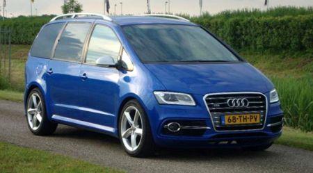 Audi Alhambra − minivens ne tāds kā visiem