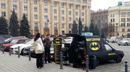 Tavrija ukraiņu Betmenam