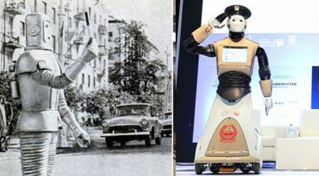 Robots-ceļu milicis? PSRS un Dubaja. Pagātne, mūsdienas un nākotne