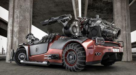 Luksus automobiļi apokalipsei