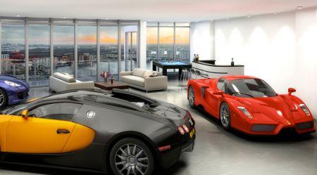 Cik automobiļiem ir vieta jūsu dzīvoklī?