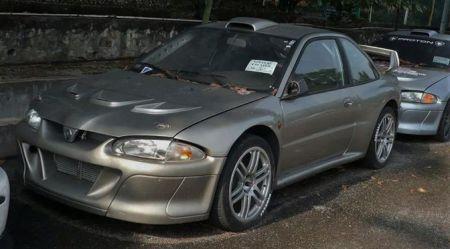Mitsubishi Lancer Evo + Subaru Impreza WRC = Proton Putra WRC
