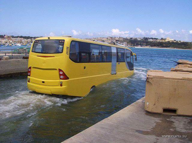Autobuss-amfibija San-Francisko