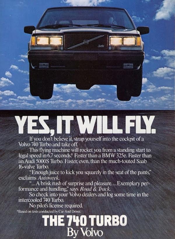 Volvo 740 1985