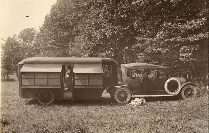 Adams Motor Bungalo, 1917