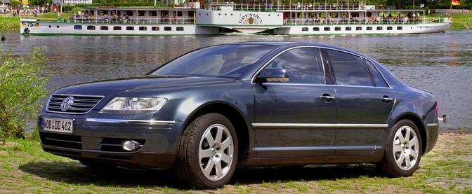 New VW deluxe car 'Phaeton'