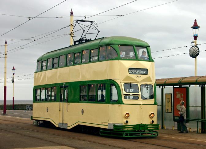 blackpool tram 2f1