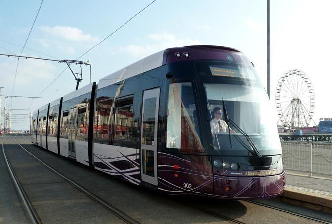 blackpool tram new